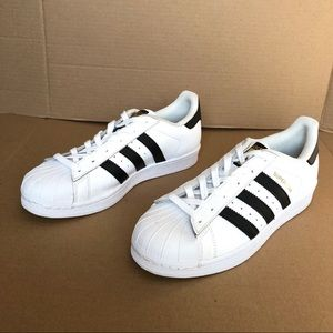 Adidas Superstar Black/White Athletic Shoes Size 7